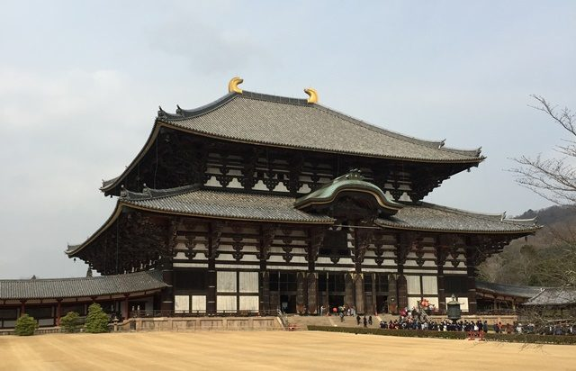 奈良のパワースポット 東大寺 大仏殿