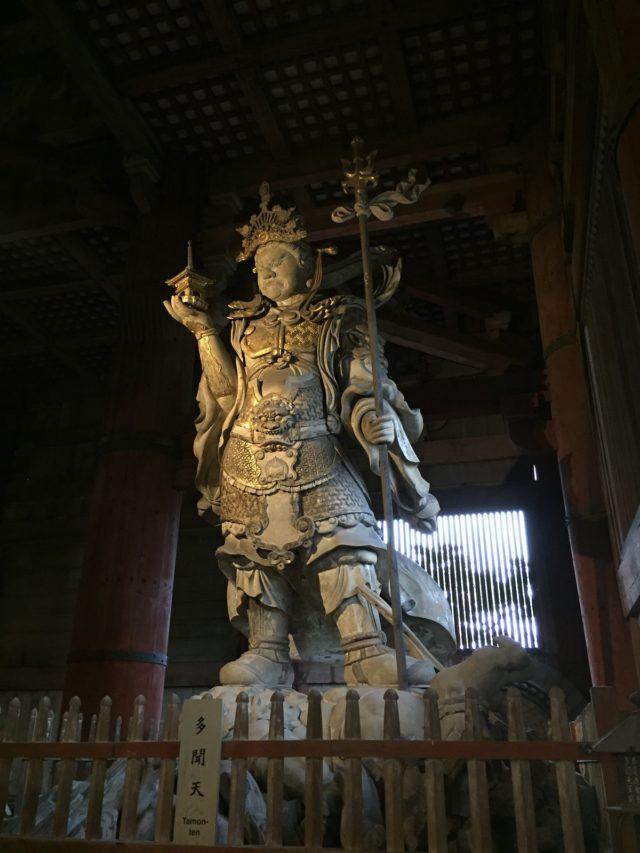 多聞天 奈良のパワースポット 東大寺