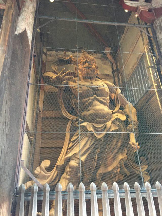 奈良のパワースポット 東大寺 金剛力士像 吽形