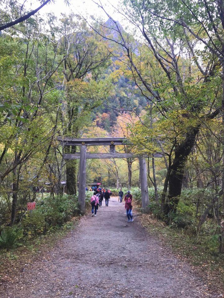 穂高神社奥宮 長野県 パワースポット